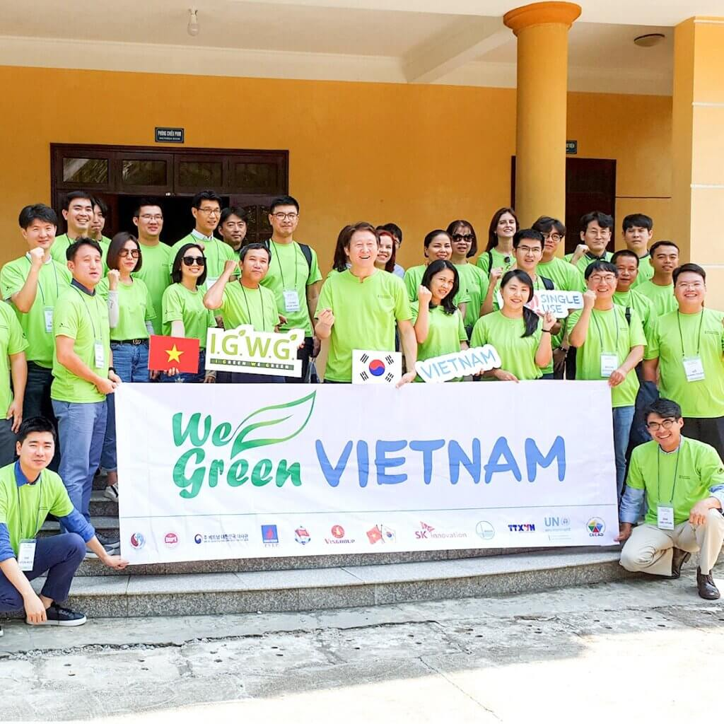 Joint Environmental Campaign in Vietnam: 'I Green, We Green'  October 1, 2019