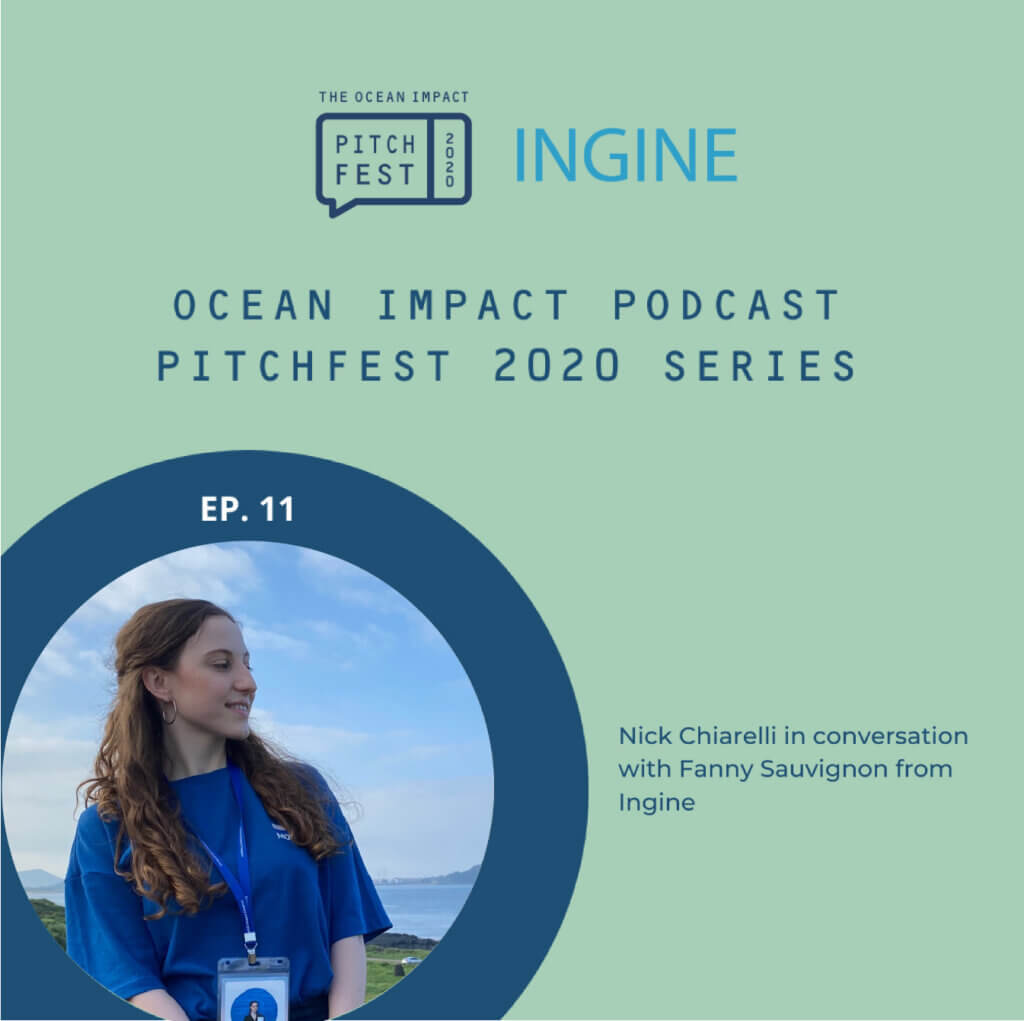 INGINE IN CONVERSATION WITH THE OCEAN IMPACT ORGANISATION – PITCHFEST 2020 SERIES